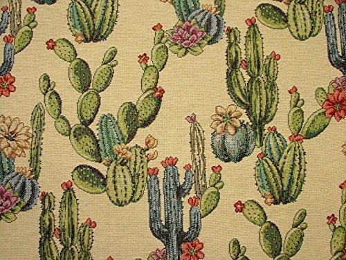 Pandoras 1,5Meter von Gobelin Cactus-Stoff, ideal für Polsterung, Vorhang mit Kissen (Chenille Cactus)