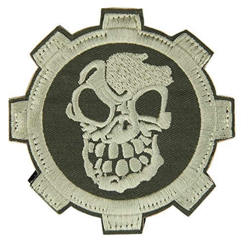 OneTigris Schädel Pirat Stickerei Moral Patch military Patches