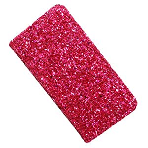 i-KitPit PU Leather Wallet Flip Case Cover For Samsung Galaxy Core (Pink)