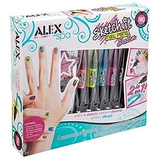 Alex Toys Sketch It Salon Nagelstifte, Verschiedene tolle Farbtöne