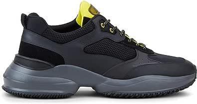 Hogan Luxury Fashion Uomo HXM5450DH10OO62774 Nero Pelle Sneakers | Primavera-Estate 21
