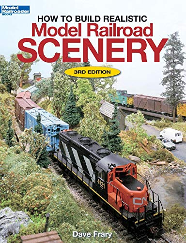How to Build Realistic Model Railroad Scenery (Model Railroader Books) por Dave Frary