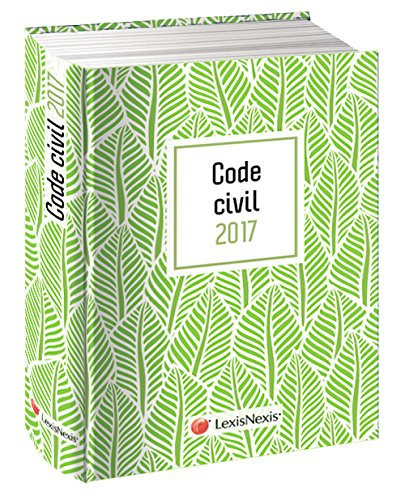 Code civil 2017 - Jaquette graphik vert: Version Ebook incluse.