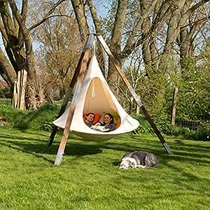cacoon fauteuil suspendu double jardin. Black Bedroom Furniture Sets. Home Design Ideas