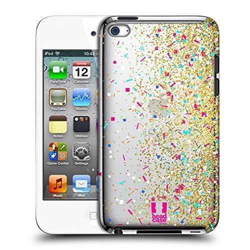 Head Case Designs Funkeln Konfetti Ruckseite Hülle für Apple iPod Touch 4G 4th Gen -