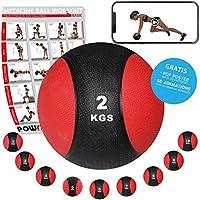 Rot//Schwarz TurnerMAX Neopren Gewichtheben Training