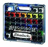 AERO COLOR® Professional Kunststoff-Koffer 37 x 28 ml + AERO CLEAN RAPID (125 ml)