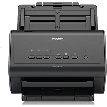 Brother ADS-2400N Scanner bureautique  A4  Recto-Verso  40 ppm   Chargeur 50 Feuilles  Ethernet  Scan to USB