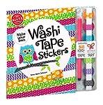 Washi Tape Stickers Book Kit-