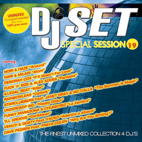 DJ Set Special Session, Vol. 19 (12 Original Extended Club Traxx Unmixed)