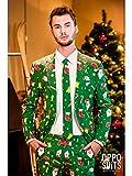 "Opposuit costume ""Santa Boss"", taille 52, costume de carnaval de Santa Claus"