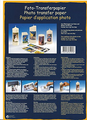 Foto-Transferpapier - 1 Stück (VZF-1)