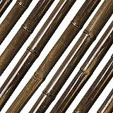 Bambusrohr Teak Durchmesser 35/40mm Länge 180 cm