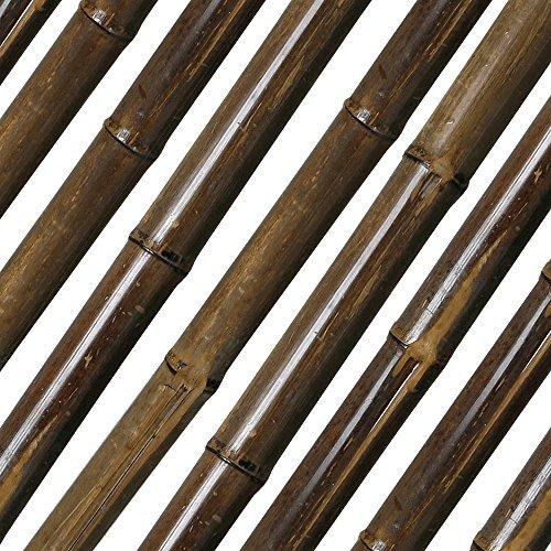 Noor Bambusrohr Teak Durchmesser 35/40mm Länge 180 cm
