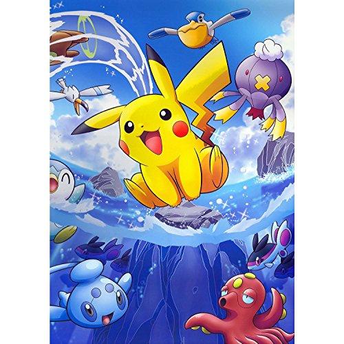 Poster-Cartel-Pikachu-En-El-Pokemon-Onda-Manga-Anime