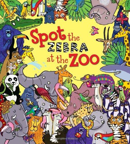 Spot The Zebra at the Zoo por Alexandra Koken