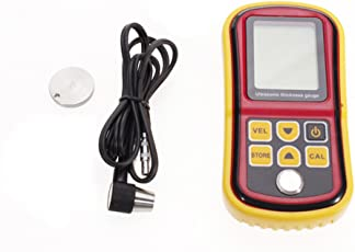 Generic E_10017103 Imported 12~225 mm Ultrasonic Thickness Gauge Meter