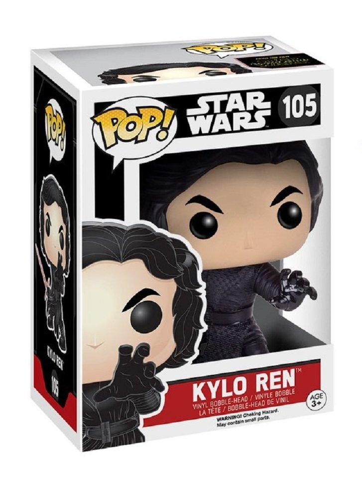 Funko Pop Kylo Ren con sable (Star Wars 105) Funko Pop Kylo Ren (Star Wars)