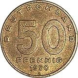 Münzen 50 Pfennig, DDR 1950 A (Jäger: 1504) Vorzüglich, Aluminium-Bronze