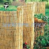 immagine prodotto Arella canniccio stuoia cannette rilegate ombra recinzione esterno 200x500cm