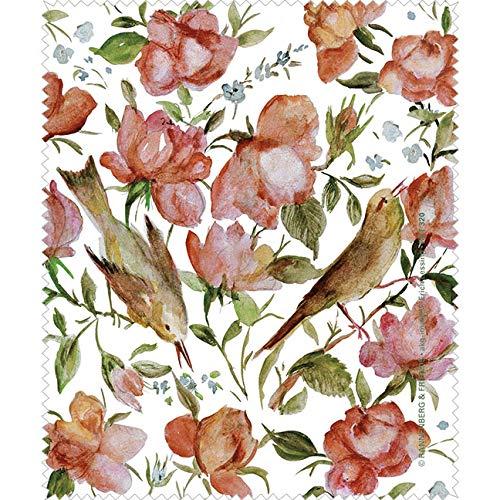 Persisch Blume (Rannenberg & Friends Reinigungstuch Brillenputztuch Persische Rosen, Microfasertuch Reinigungstücher Brillenputztücher Tücher Blumen)