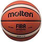 Molten Top Wettspiel Basketball FIBA APPR.Gr. 7 orange-Ivory