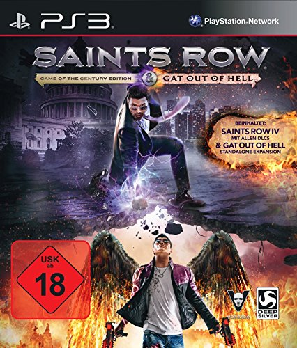 Saints Row IV - Game Of The Century Edition & Gat Out Of Hell [Playstation 3]