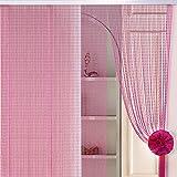 Schöne dekoration acryl perlen vorhang,Nach hause commercia tür bildschirm-G 120x200cm(47x79inch)