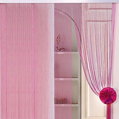Hermosa decoración para el hogar de acrílico moldeado cortina,Pantal