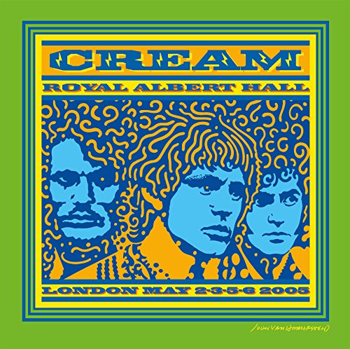 Royal Albert Hall 2005 [Vinyl LP] Cream Music Box