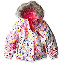 Spyder Girls Bitsy Lola para mujer, niña, color Party Multi Print/Bryte Bubblegum, tamaño 3 años