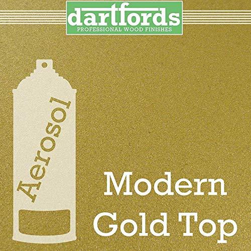 Nitrocellulose Lack Spray/Nitro Lack Dartfords 400ml Modern Gold Top - Moderne Lack