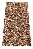 Piatto di sughero isolante Sughero Parquet Unterlage isolamento acustico 100X 50cm spessore 20mm/Costruzione isolamento/Pavimento/documento/trocke Nest Rich/truciolato