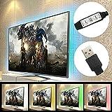 LED Strip TV Hintergrundbeleuchtung 90cm 27leds Streifen Wasserdichte RGB USB-Streifen TV Beleuchtung für TV Monitor PC Laptop von Zuoao