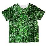 Unbekannt Halloween-Grüne Schlange Snakeskin Kostüm Aller Kleinkind T Shirt Multi 2 t
