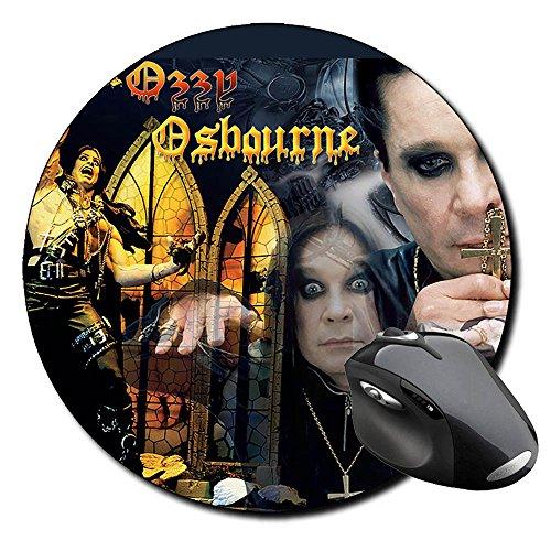 Ozzy Osbourne Tappetino Per Mouse Tondo Round Mousepad PC