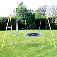 Nimbus Garden Folding Nest Swing and Glider Kids Outdoor Play Set