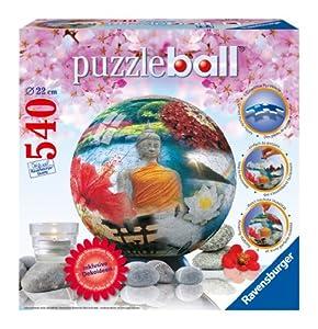 Ravensburger 11139 Wellness puzzleball® - Puzzle de Bola de 540 Piezas