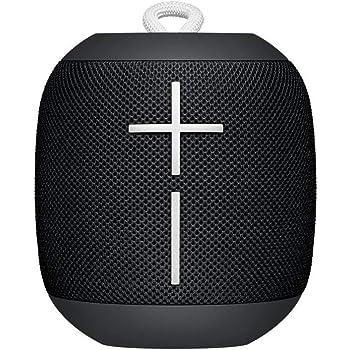 Ultimate Ears WonderBoom Bluetooth Lautsprecher (wasserdichter 360°-Sound) - Phantom Schwarz