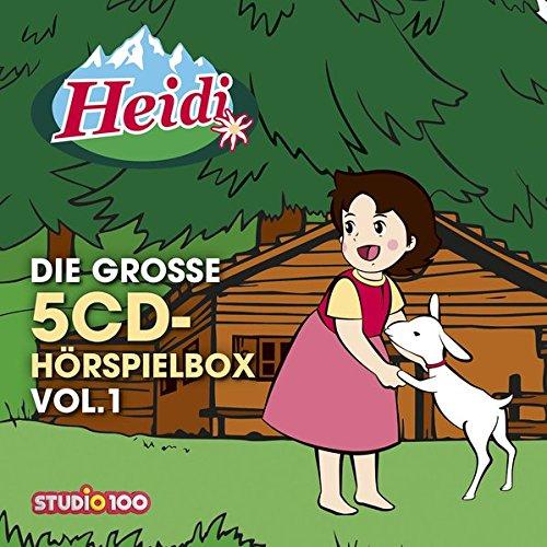 Heidi - Die große 5CD-Hörspielbox Vol.1 (Cd-karussell)