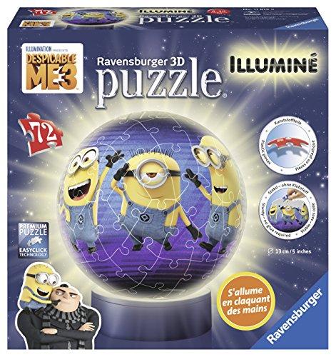 Ravensburger–11819–Puzzle–3D–72Piezas–Iluminado–, mi Villano Favorito 3