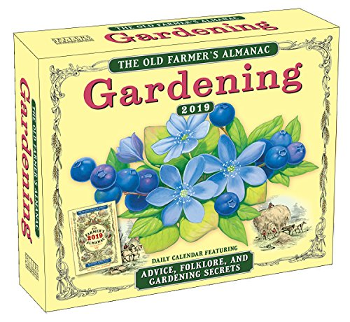2019 the Old Farmer's Almanac Gardening Boxed Daily Calendar: By Sellers Publishing - Boxed Garten
