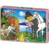 Schmidt Spiele 55580 Bibi & Tina - Puzzle de 100 piezas en caja metálica