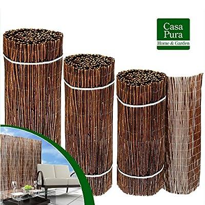 casa pura® Sichtschutz Weidenzaunmatten - Größe wählbar von casa pura auf Du und dein Garten