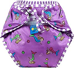 Reusable Swim Diaper | Mermaids Size , Small