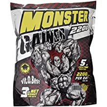 Vitobest Monster Gainer 2200 Sabor Limón - 3000 gr