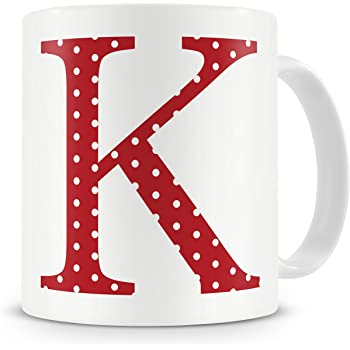 Letter K Mug Letter K Mug K Letter Mug K Mug Mug Gift