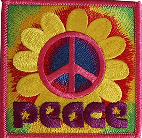 DAISY PEACE, Officially Licensed Original Artwork, Iron-On / Sew-On, 3