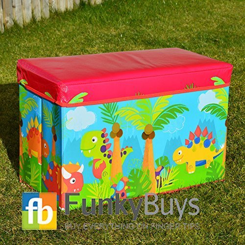 FunkyBuys?Dinosaur Kids Childrens Large Storage...