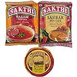 Sakthi Sambar Powder 100gm + Rasam Powder 100gm + Appalam (Pappad) 100gm